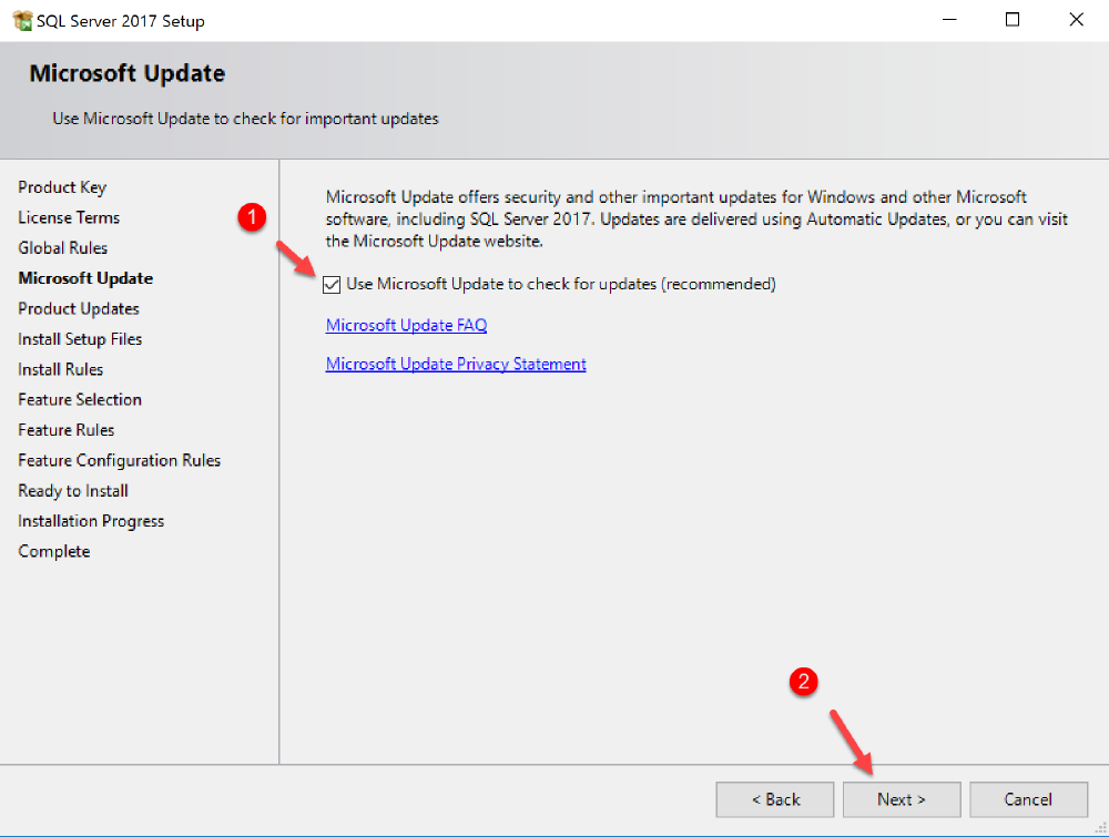 install available updates